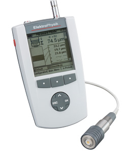 QuintSonic Multilayer Ultrasonic Coating Thickness Gauge